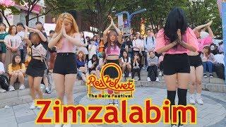 kpop in public red velvet zimzalabim full cover dance 4k