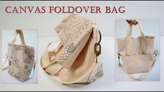 DIY/Foldover bag tutorial/패턴 하…