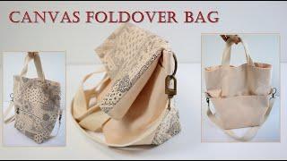 DIY/Foldover bag tutorial/패턴 하…