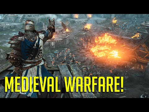 MEDIEVAL WARFARE! For Honor Campaign Gameplay!  