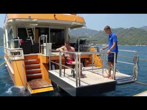 wheelchair accessible boat wellabled
