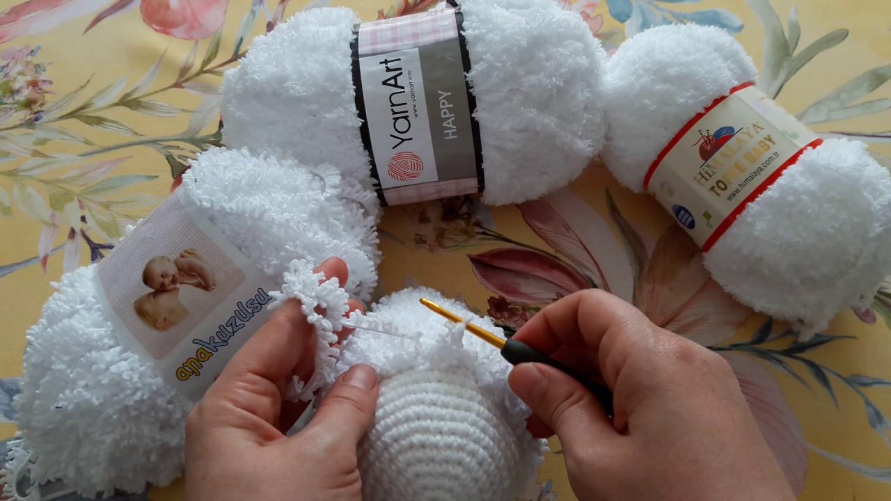 Bebek Battaniyeleri İçin Figür Kuzu Yapımı Açıklamalı Videolu