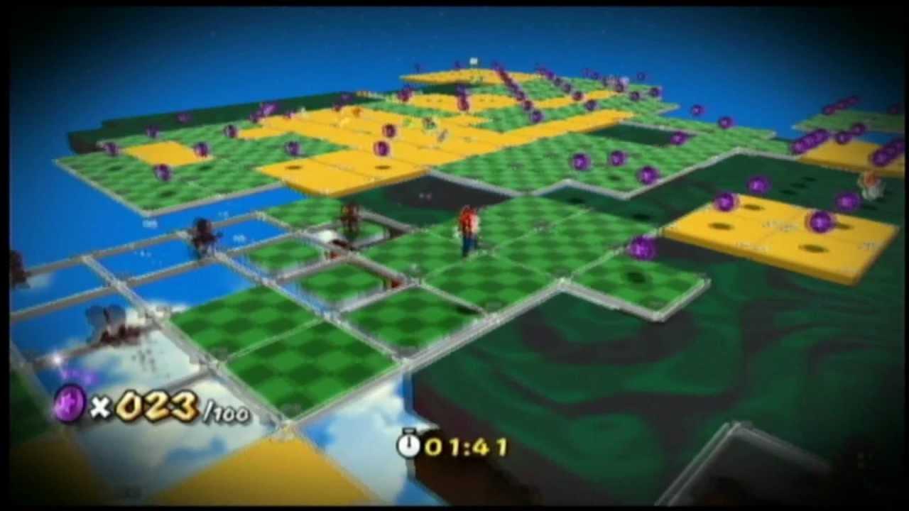 Lets Play Super Mario Galaxy 2 Germanblind Part 51 Lila Münzen