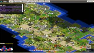 Freeciv Prussia Playthrough Part 5 The Battle of Auckland