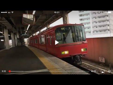 前面展望 名鉄尾西線 名鉄一宮→津島