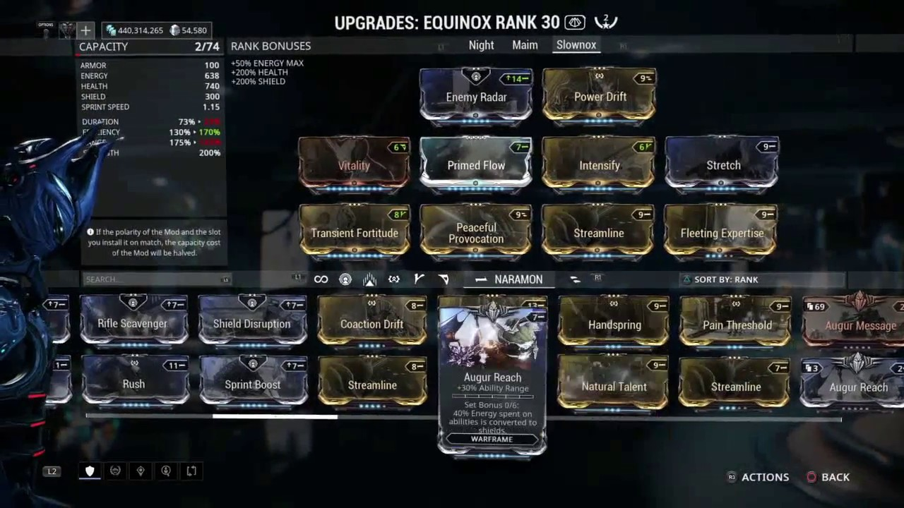 Equinox Build Warframe