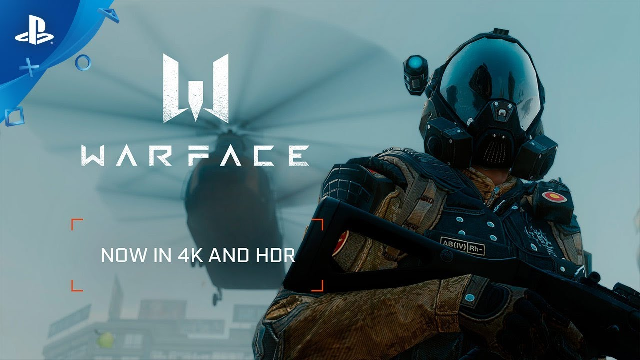 Warface now available in 4K and HDR - Geeky Gadgets