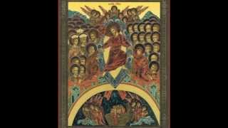 Paschal Stichera in Church Slavonic (byzantine chant)