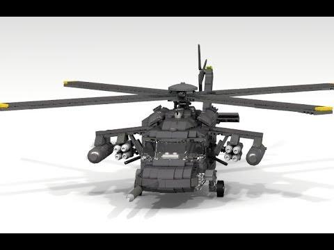 Lego UH-60 Black Hawk FULL ARMED