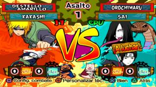 Naruto Shippuden Ultimate Ninja 5 GamePlay#61 PT-BR Minato Vs Orochimaru PS2【Full HD 60 FPS】