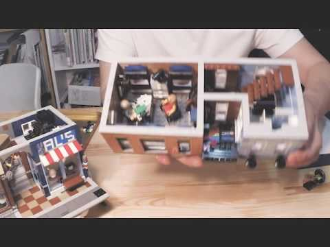 lego detective's office 開箱組裝介紹說明 introducing 10246