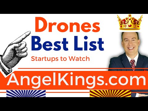 Drone Startups: Hottest & Fastest Growing Drone Companies - AngelKings.com