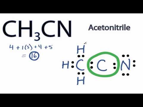 CH3CN Lewis Structure: How to Draw the Lewis Structure for CH3CN
