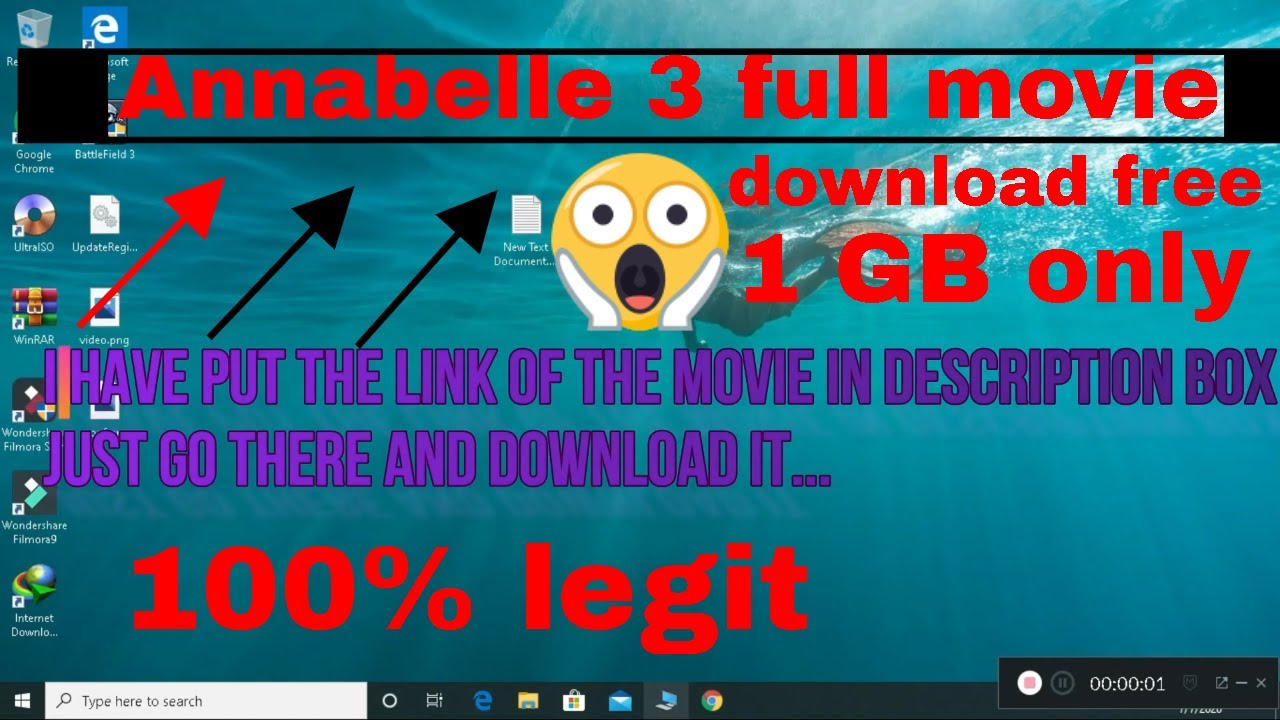 Download How to download Annabelle 3 full movie engilsh 1080p 100% real |link in description