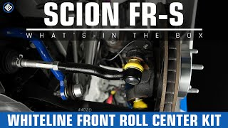 Whiteline Front Roll Center Kit -  Scion FR-S/Subaru BRZ Install/Review