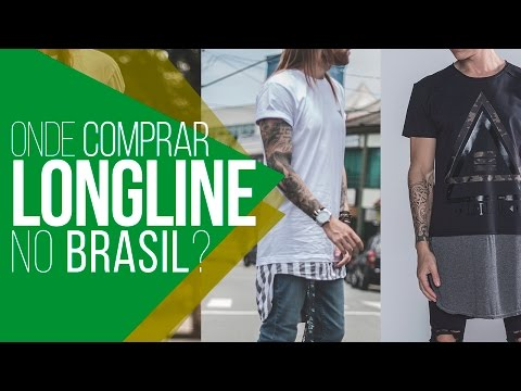 #LojasNacionais: Onde Comprar CAMISETA LONGLINE no Brasil?