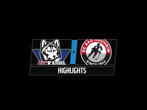 DEL2 Highlights 20. Spieltag | Kassel Huskies vs. EC Bad Nauheim