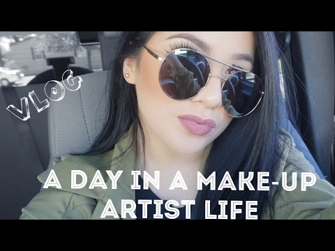VLOG: A Day As A Freelance Make-Up Arist