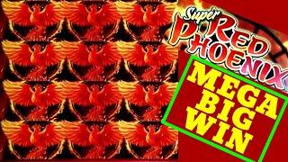 MEGA BIG WIN🔥! SUPER RED PHOENIX Slot Machine Max Bet Bonuses HUGE WIN   RARE WINS  Premiere STREAM