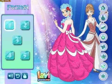 Frozen Elsa Dress Up (Холодное сердце: Эльза одевалка) - прохождение игры