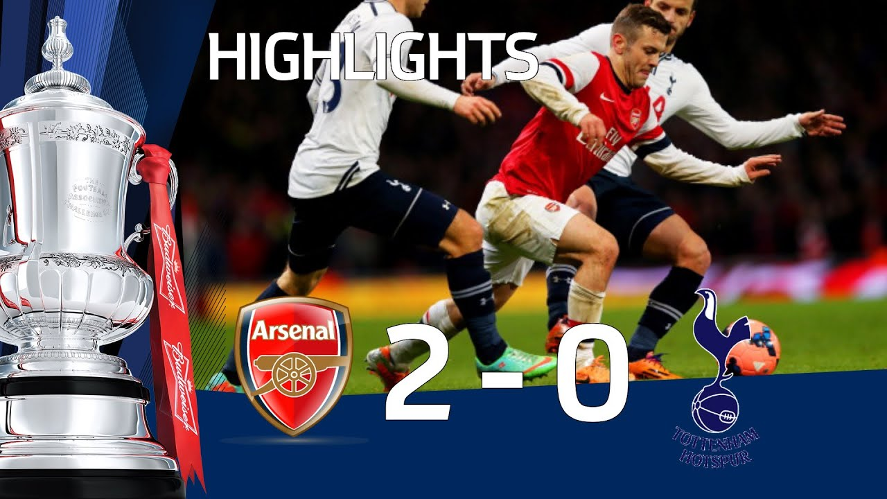 Download ARSENAL vs TOTTENHAM HOTSPUR 2-0: Official Goals & Highlights FA Cup Third Round