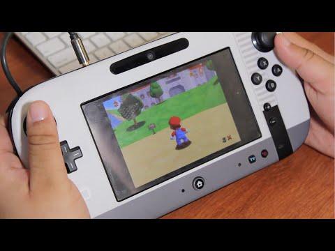 Super Mario 64 on Wii U Virtual Console Gameplay