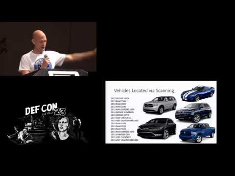 DEF CON 23 - Charlie Miller & Chris Valasek - Remote Exploitation of an Unaltered Passenger Vehicle