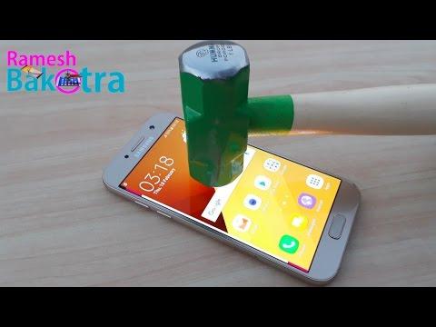 Samsung A5 2017 Screen Scratch Test Gorilla Glass 4