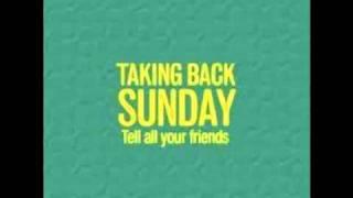 Taking Back Sunday- The Ballad of Sal Villanueva