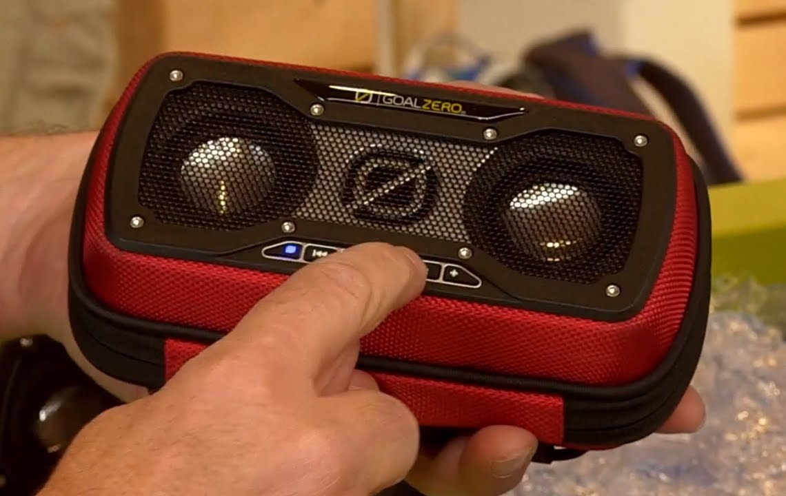 Goal Zero Rock Out 2 Speakers Best New Products Outdoor 2013 Youtube