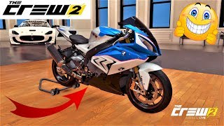 The Crew 2 custom moto BMW S1000 rr + pointe