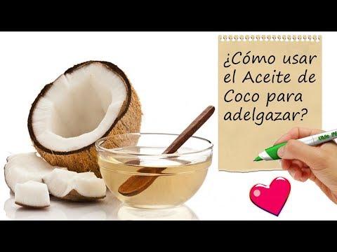 cómo utilizar el grasa de coco para descender de peso