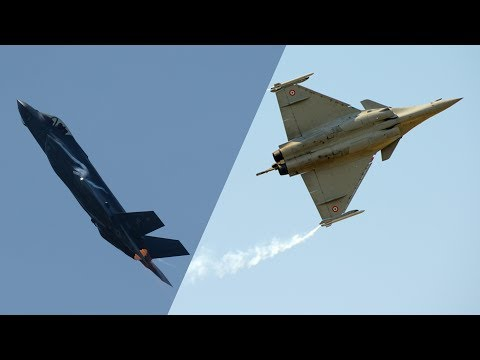 F-35 vs Rafale: The battle for fighter jet supremacy | CNBC International