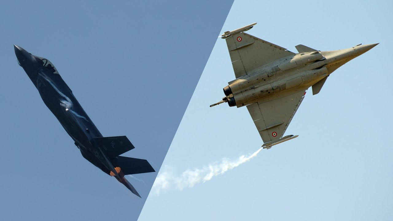 F 35 Vs Rafale The Battle For Fighter Jet Supremacy Cnbc International Youtube