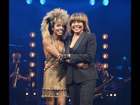 TINA The Musical Premier 17 April 2018 - Tina Turner onstage with Adrienne Warren