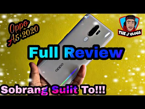 Oppo A5 2020 Full Review | Camera Samples | Tagalog |