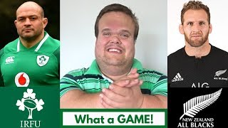 Ireland vs New Zealand 2018 RECAP: Well Done Ireland!