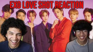 Asian's First Time Reacting to EXO 엑소 'Love Shot' MV
