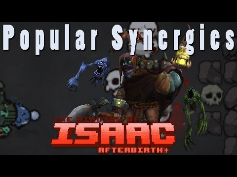 The Binding of Isaac Afterbirth Plus | Yorick | Popular Synergies!