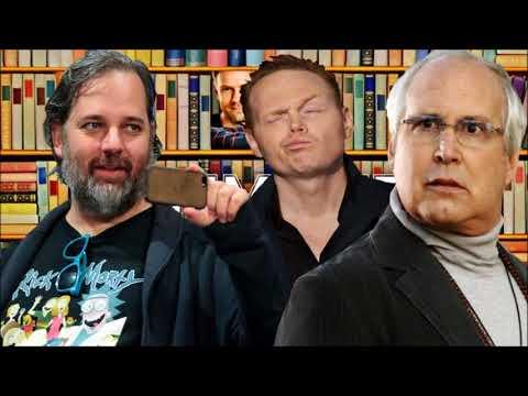 Dan Harmon on Chevy Chase feud w Bill Burr