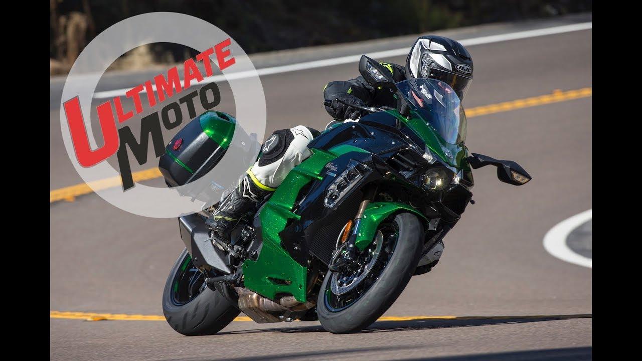 2018 Kawasaki Ninja H2 Sx Se Review Ultimate Motorcycling Youtube