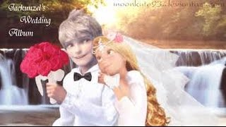 The Ambitious Girl- Beautiful in White- Jack Frost and Princess Rapunzel's Wedding Album