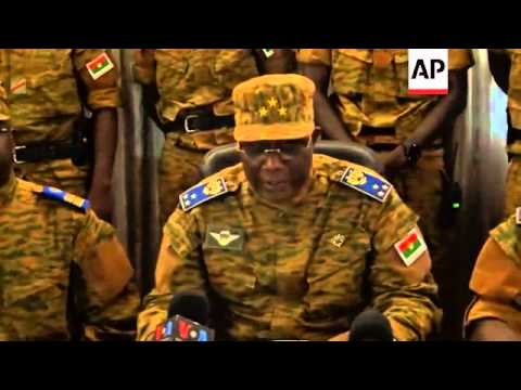 Joint chief-of-staff assumes power after president resigns