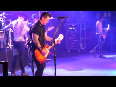Greed performed by buckcherry