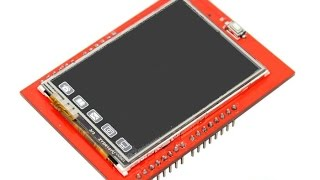 """TFT дисплей 2.4"""" дюйма + MicroSD reader + Touch screen"""