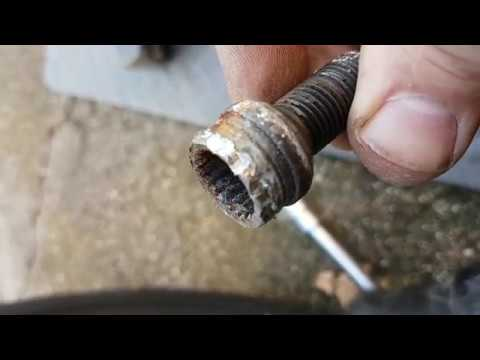 How to remove locking wheel nuts without the key
