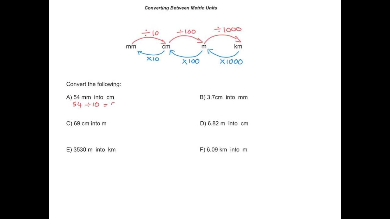 Converting metric units of length ks2 maths youtube converting metric units of length ks2 maths robcynllc Choice Image