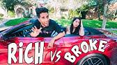Rich Boyfriend VS Broke Girlfriend