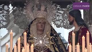 Virgen de las Angustias (Ecce-Homo) por Ancha y San José (Semana Santa Cádiz 2019)