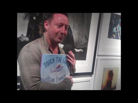 TINA GREY FROM RED CARPET DRIVE CHATS WITH JULIAN LENNON ABOUT HIS BOOK TOUCH THE EARTH